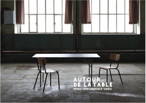 Autour de la table : performance vidéo à Mulhouse